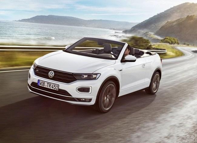 44384 Volkswagen T-Roc Cabriolet: Интересная новинка от немецкого бренда. Volkswagen T-Roc Cabriolet