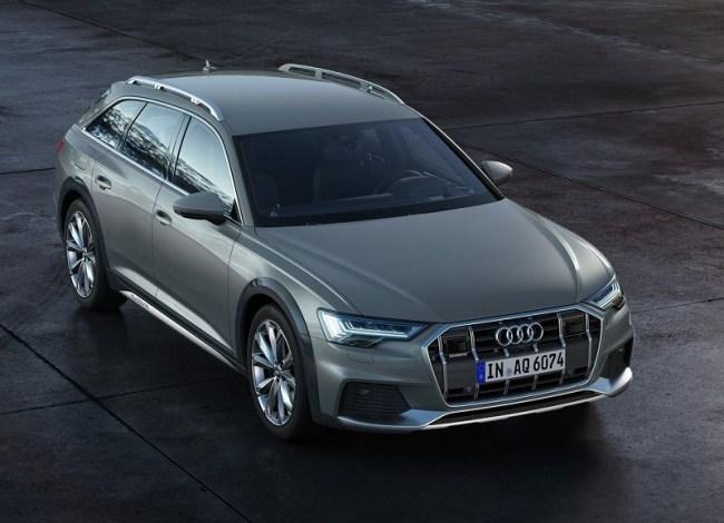 44398 Audi A6 Allroad: Мощный кросс-универсал. Audi A6 allroad quattro