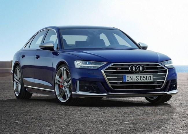 44556 Audi S8: мощный седан премиального уровня. Audi S8
