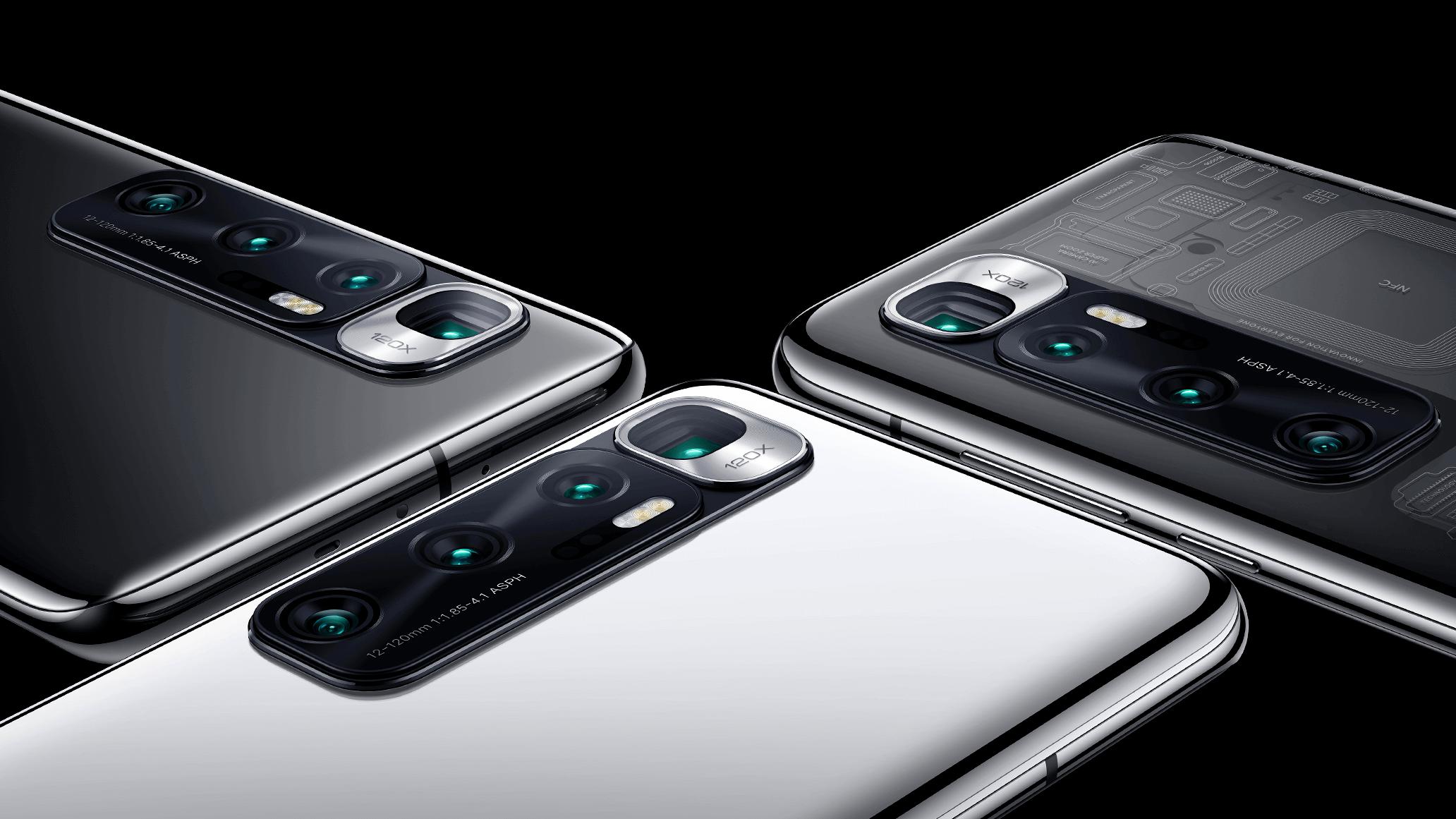 44528 Xiaomi Mi 10 Ultra отримав 120 Вт зарядку і топовий набір камер