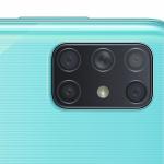 45056 Galaxy A72 станет первым смартфоном Samsung с пентакамерой