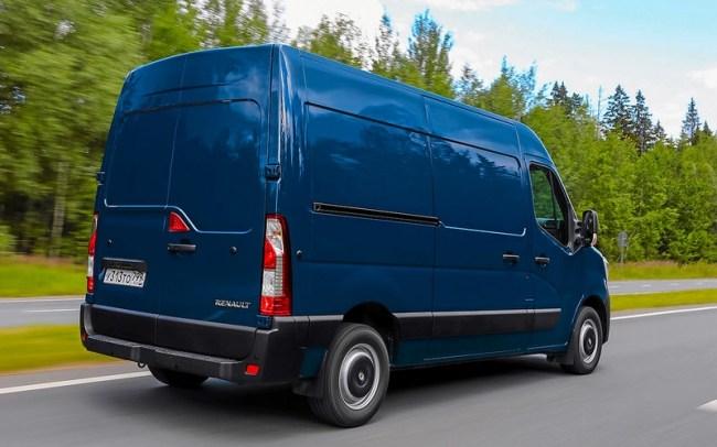 44991 Обновленный Renault Master - тест для бизнесменов. Renault Master