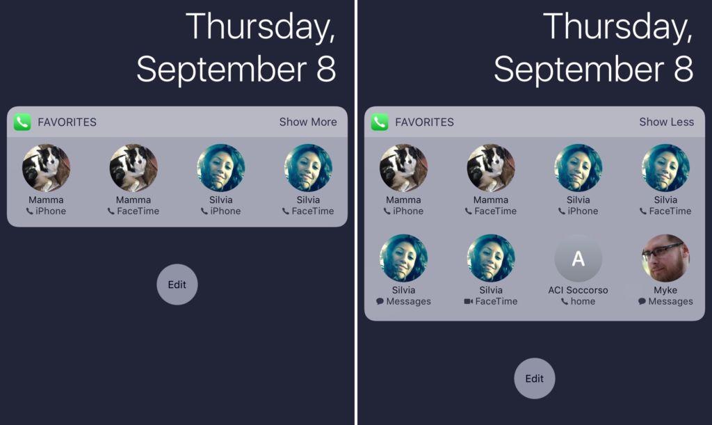 45397 Як на iOS 14 повернути віджет улюблених контактів