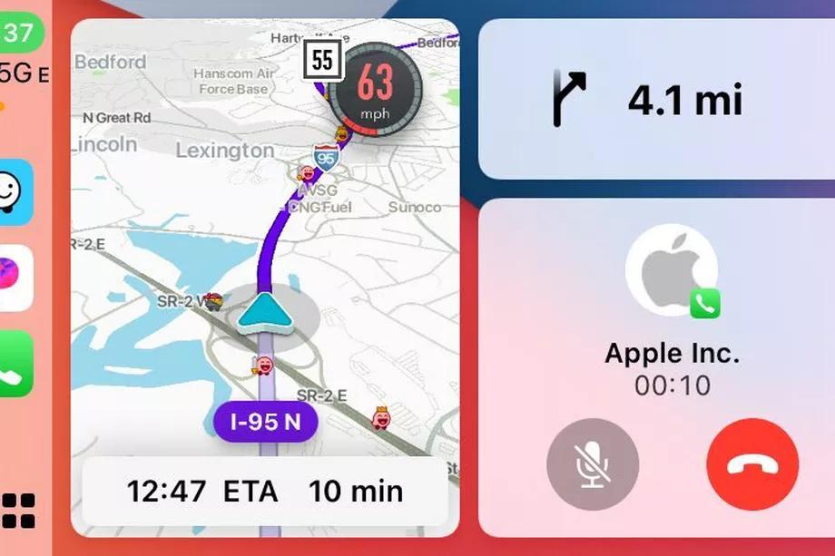 45776 Waze в скором времени получит поддержку режима Dashboard в Apple CarPlay