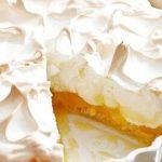 46044 ЛИМОННЫЙ ПИРОГ – БЕЗЕ: красивый и простой в приготовлении пирог к чаю
