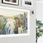 46175 Новый 43″ телевизор Samsung The Frame способен работать как в ландшафтном, так и портретном режиме