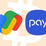 46521 Google Pay и Samsung Pay в скором времени позволят рассчитываться Bitcoin и другими криптовалютами, используя сервис BitPay
